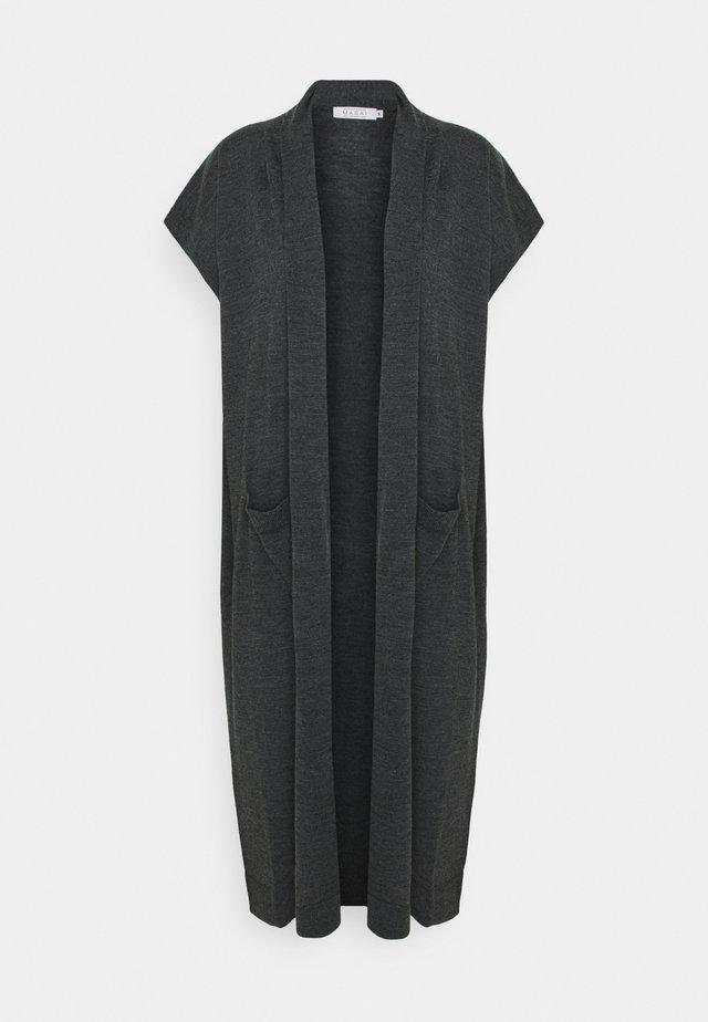 LEE - Chaqueta de punto - dark grey melange