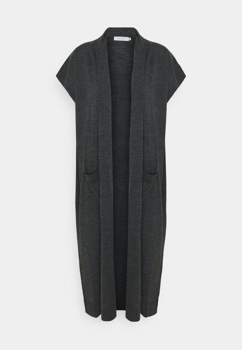 Masai - LEE - Cardigan - dark grey melange