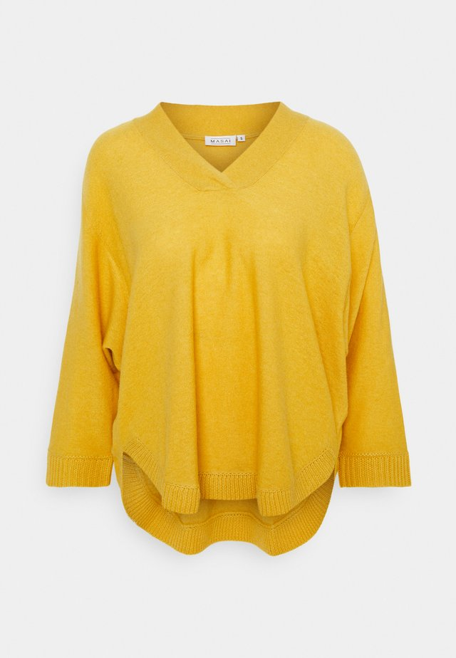 FAITHE - Jersey de punto - oil yellow