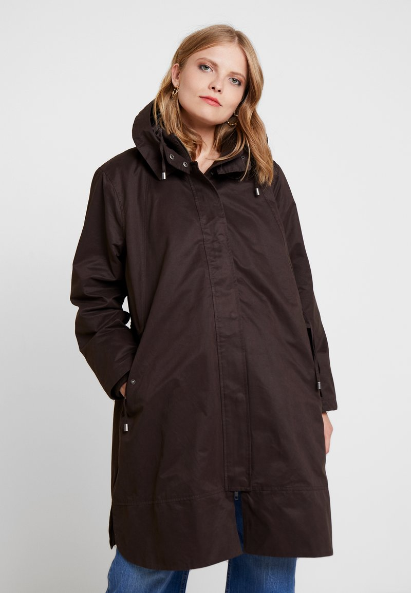 Masai - TONE COAT - Vinterkappa /-rock - chocolate