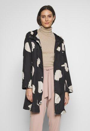 TINE - Krátký kabát - black