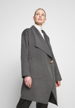 TEAN - Classic coat - medium grey melange