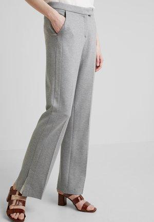 Pantalon classique - cement grey melange
