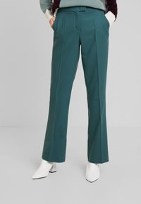 Marc O'Polo PURE - PANTS TIMELESS LOOK SOLID - Broek - foggy pine - 0