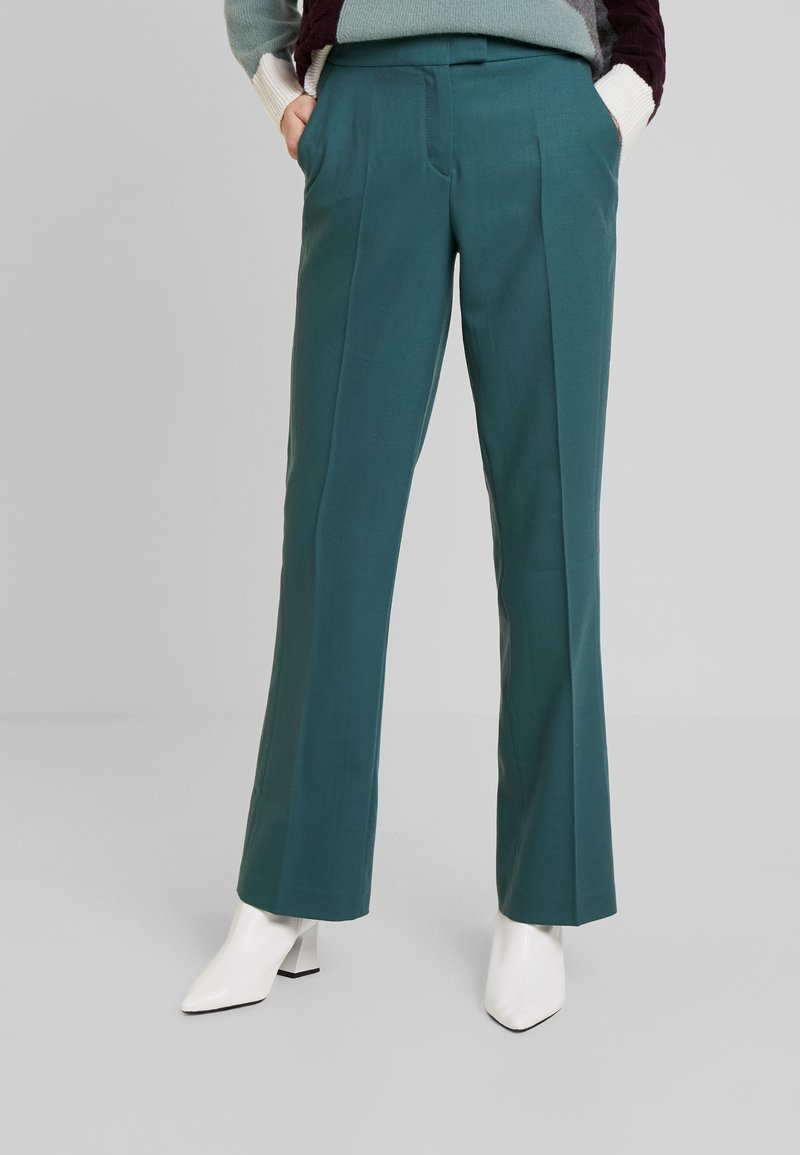 Marc O'Polo PURE - PANTS TIMELESS LOOK SOLID - Broek - foggy pine