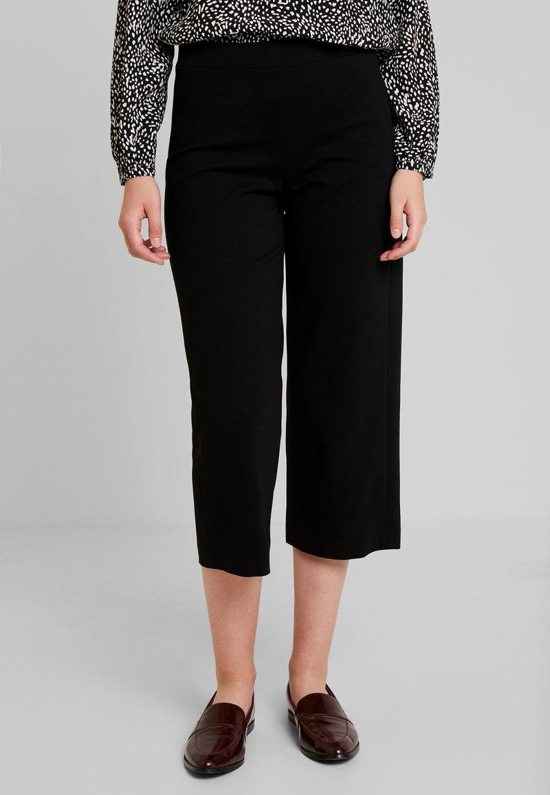 Marc O'Polo PURE - PANTS CONFECTION CULOTTE - Pantalon classique - pure black