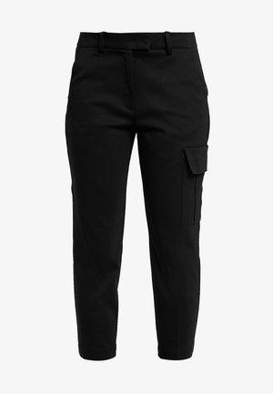 PANTS - Pantalon classique - pure black