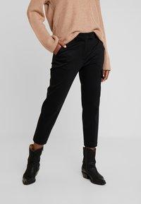 Marc O'Polo PURE - PANTS - Pantalon classique - pure black - 0