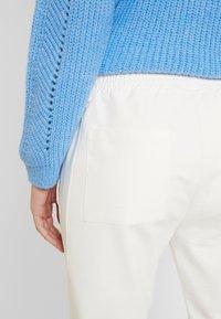 Marc O'Polo PURE - PANTS SIDE INSERT - Pantalon classique - natural white - 5