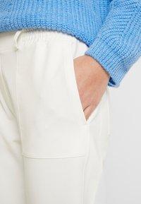 Marc O'Polo PURE - PANTS SIDE INSERT - Pantalon classique - natural white - 3