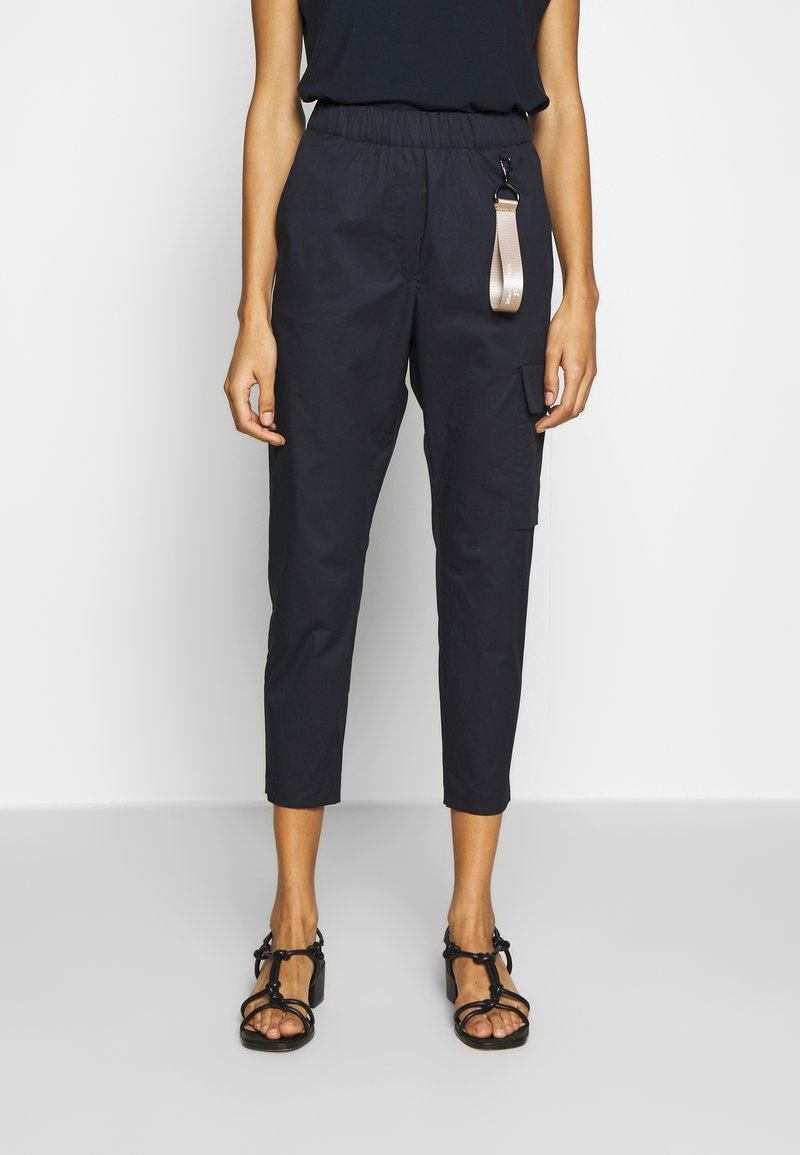 Marc O'Polo PURE - Trousers - pure navy