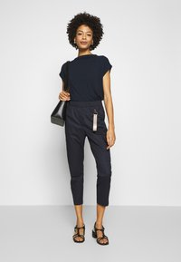 Marc O'Polo PURE - Trousers - pure navy - 1