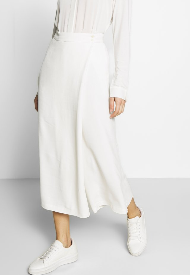 PANTS SKIRT - Broek - natural white