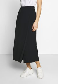 Marc O'Polo PURE - PANTS SKIRT - Pantalon classique - pure black - 0