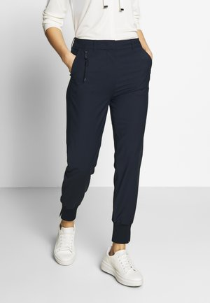 HYBRID TAILORED PANTS - Trousers - steel blue