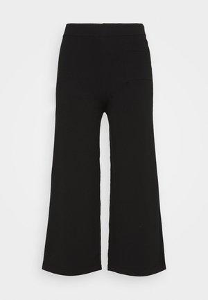 HEAVY PANT - Tygbyxor - pure black