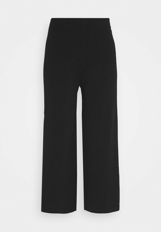 HEAVY PANT - Pantalon classique - pure black