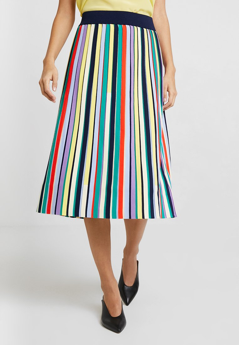 Marc O'Polo PURE - HEAVY SKIRT KNEE COVERING - A-Linien-Rock - combo