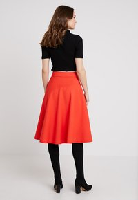 Marc O'Polo PURE - SKIRT CIRCLE SILHOUETTE - A-line skirt - strong scarlet - 2