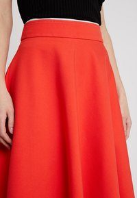 Marc O'Polo PURE - SKIRT CIRCLE SILHOUETTE - A-line skirt - strong scarlet - 3