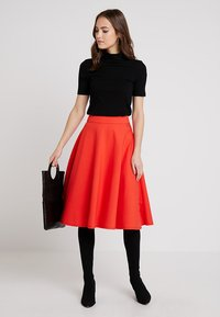 Marc O'Polo PURE - SKIRT CIRCLE SILHOUETTE - A-line skirt - strong scarlet - 1