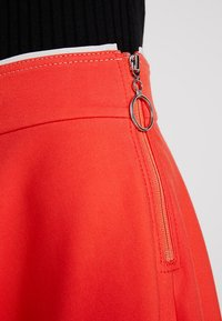 Marc O'Polo PURE - SKIRT CIRCLE SILHOUETTE - A-line skirt - strong scarlet - 5