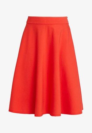 SKIRT CIRCLE SILHOUETTE - Áčková sukně - strong scarlet
