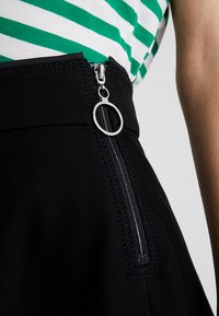 Marc O'Polo PURE - SKIRT CIRCLE SILHOUETTE - A-line skirt - black - 4