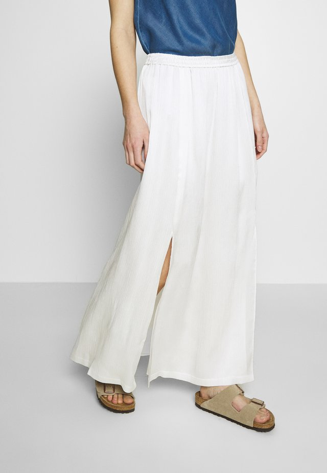 MIJA SKIRT MAXI LENGTH - Falda larga - clear white
