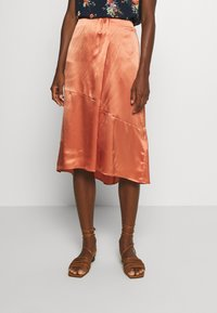 Marc O'Polo PURE - SKIRT - Gonna a campana - smooth rosewood - 0