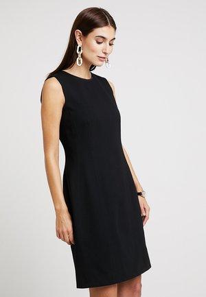 DRESS MODERN STYLE PIPING - Etui-jurk - black