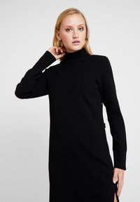 Marc O'Polo PURE - DRESS STRAIGHT FIT - Jumper dress - pure black - 4