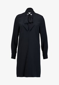 Marc O'Polo PURE - DRESS SLIGHTLY A-LINE STAND UP - Sukienka koszulowa - navy - 4