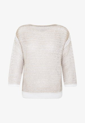 CROPPED  HIGHLIGHT STRUCTURE - Trui - multi/white