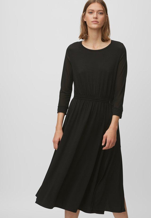 Sukienka z dżerseju - pure black