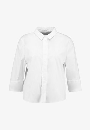BLOUSE STAND UP COLLAR - Bluser - white