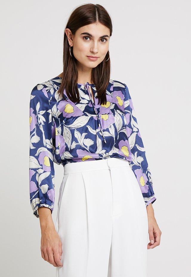 Blouse - mottled lilac