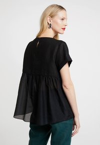 Marc O'Polo PURE - BLOUSE STYLE ROUND NECK - Blouse - black - 3