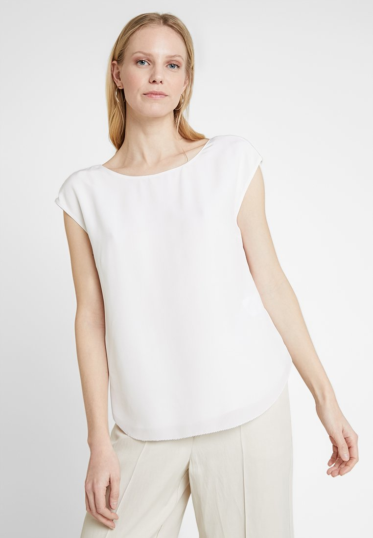 Marc O'Polo PURE - BLOUSE STYLE GATHERING - Blouse - ivory white