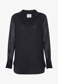Marc O'Polo PURE - BLOUSE LONG SLEEVE REGULAR FIT A-SHAPE HYBRID STYLE - Bluser - pure navy - 4