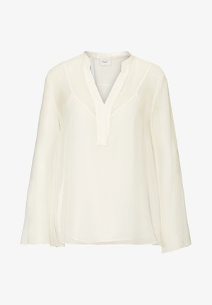 LONG AND WIDE SLEEVES - Blouse - clear white