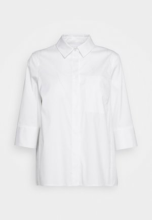 BLOUSE CHEST POCKET - Skjortebluser - white