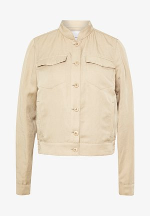 SHAPE FLAT FLAP POCKET DETAILS - Summer jacket - warm sand