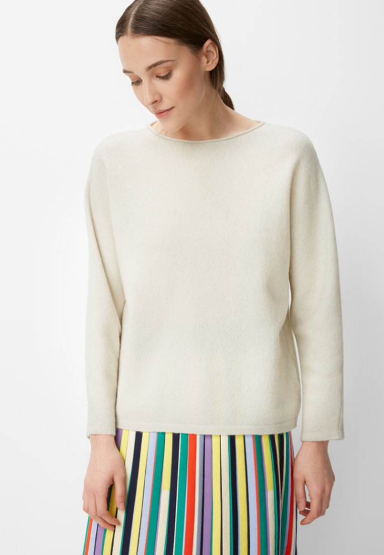 Marc O'Polo PURE - Strickpullover - beige