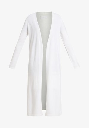 LONG SLEEVE SLIT ON SIDE - Cardigan - natural white