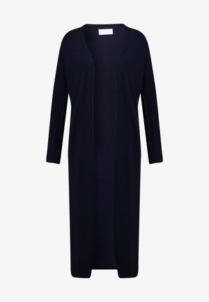LONG SLEEVE SLIT ON SIDE - Cardigan - pure navy