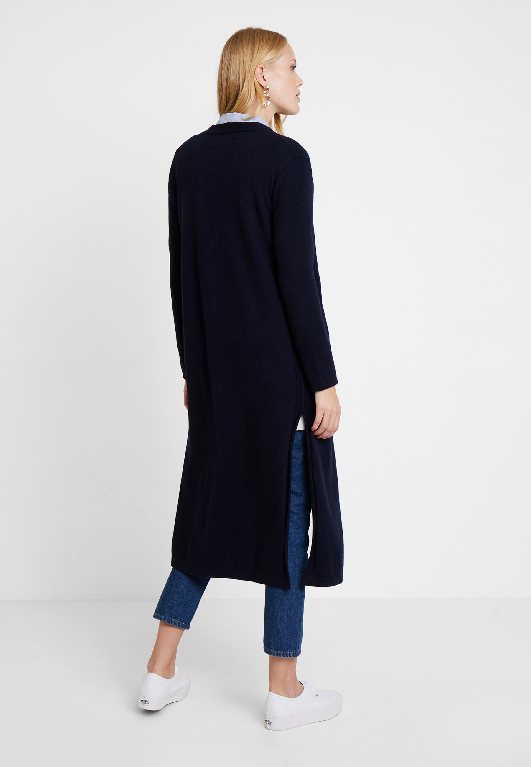 SideGilet Navy O'polo On Slit Long Pure Marc Sleeve Ybg7y6f