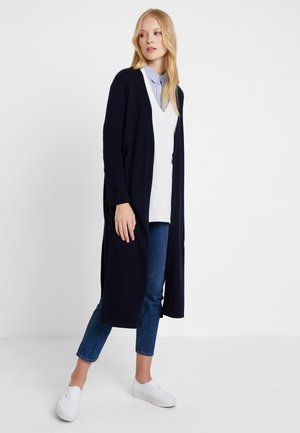 LONG SLEEVE SLIT ON SIDE - Neuletakki - pure navy