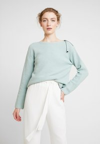 Marc O'Polo PURE - STRUCTURE - Neule - sage green - 0
