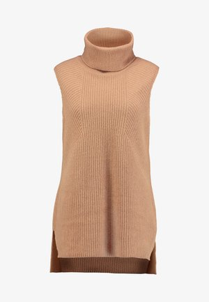 INDOOR  SLEEVELESS - Toppe - pure camel